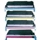 4 Farben Toner zu HP C9730A-C9733A Rainbow Kit
