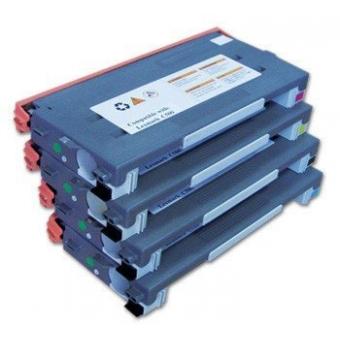 4 Farben komp zu Lexmark c500 bcym 5.000seiten