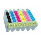 Kompatible Patrone Epson T0801 - 06 - 1 Set