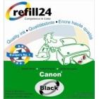 Druckertinte für Canon BCI24 black